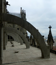 Photo: Flying buttresses, right side