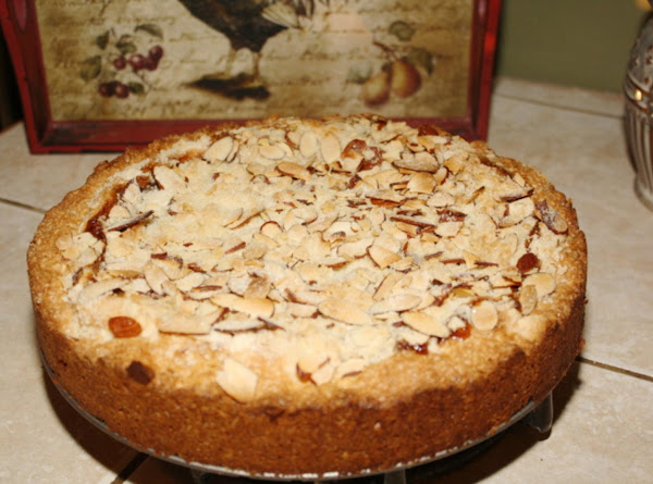 Almond Strawberry Cream Cheese Coffee Cake Recipe