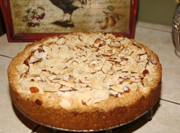 Almond Strawberry Cream Cheese Coffee Cake Recipe