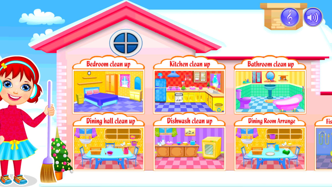 My dream house cleanup winter android apps on google play for My dream house drawing