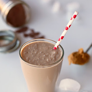 Chocolate Peanut Butter Smoothie.
