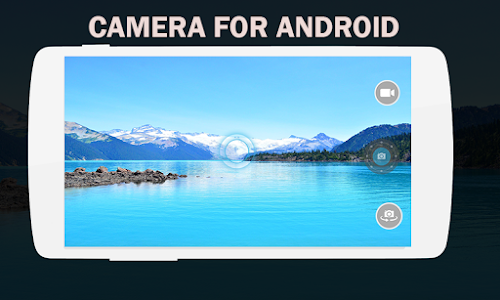 Camera for Android screenshot 2