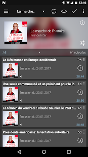 Podcast & Radio Addict – Vignette de la capture d'écran