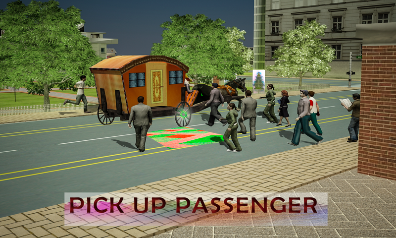 android Horse Carriage Transport Drive Screenshot 4
