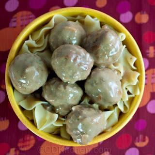 Quick Slow Cooker Meatballs.