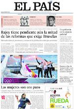Photo: Rajoy tiene pendiente aún la mitad de las reformas que exige Bruselas, el deporte femenino se consolida y los escándalos políticos convulsionan a la policía, en la portada del 12 de agosto de 2012 http://ep00.epimg.net/descargables/2012/08/12/5c68518e6400e6bf56cd6c644632443c.pdf