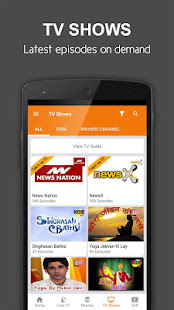 App nexGTv Live TV News Cricket APK for Windows Phone