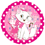 Pink Kitty Keyboard Icon