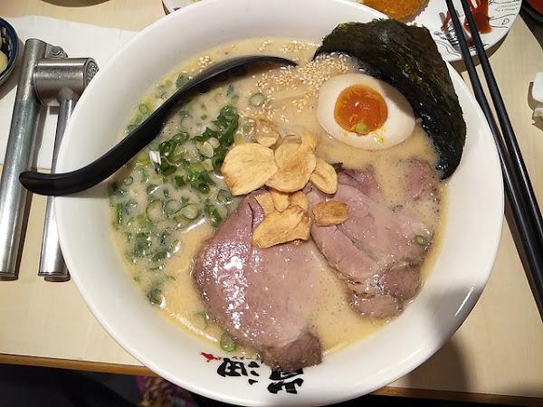 新竹好吃濃濃拉麵:嵐沺拉麵