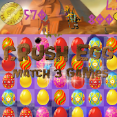 Crush Egg Match 3 Games
