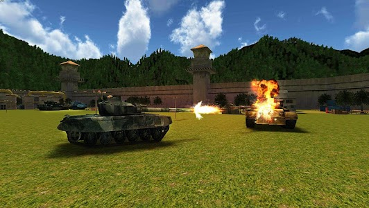 World War Tank Battle 3D v1.1 (Mod Money)