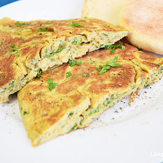 Herbed Omelette, a simplified Persian Kuku