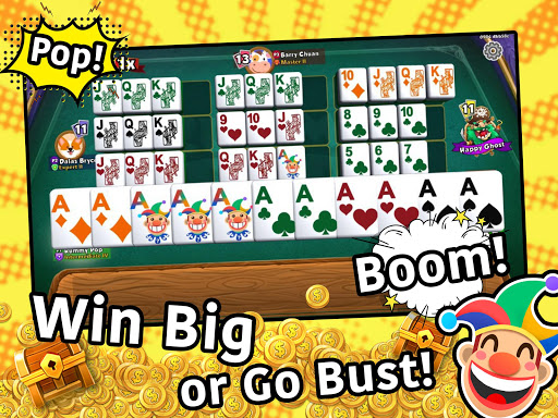 Rummy Pop! The newest, most exciting Rummy Mahjong screenshot 1