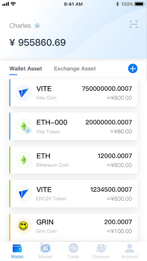 Vite Wallet screenshot 2