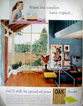 """Photo: House and Garden was still a bit more upscale than other popular ladies' home magazines of the era. It featured more """"modern"""" designs than say, Good Housekeeping or Women's Day."""