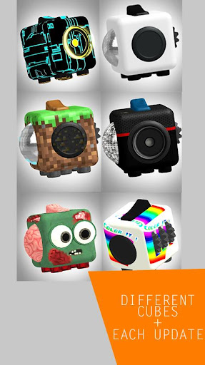 Fidget Cube 3D screenshots 4