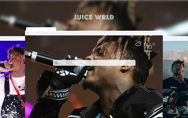Juice WRLD HD Wallpapers New Tab