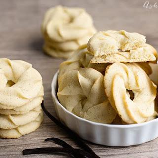 Vanilla Bean Danish Butter Cookie