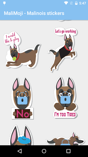 MaliMoji - Malinois stickers  screenshots 2