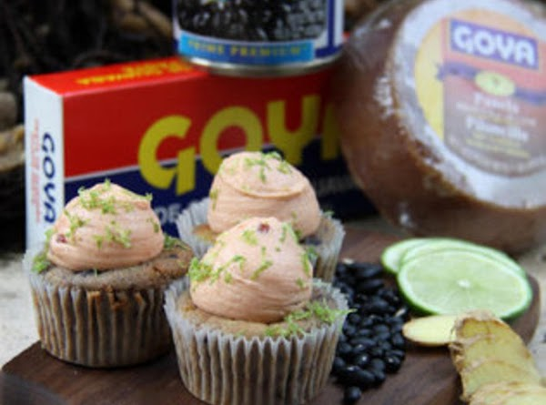 Goya Black Beans Cupcakes With Guava Frosting Recipe