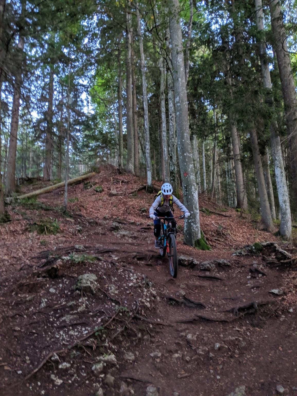 Baumgartenschneid trail mtb - Sept 19