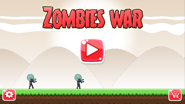 Zombies war - screenshot