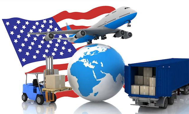 Ship hàng đi Mỹ bằng đường hàng không có thời gian giao hàng nhanh