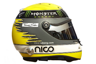 Photo: The helmet of Nico Rosberg (GER) Mercedes GP.Formula One Testing, Day 2, Jerez, Spain,  Friday 11 February 2011.