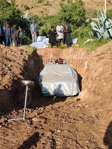 UDM member gets his last wish as he gets buried in his favourite car
