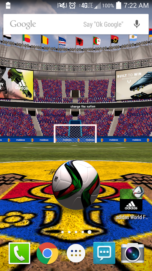 adidas World Football Live WP - screenshot