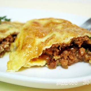 Minced Pork Omelet