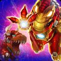 Dino War Iron T-Rex VS Tyranno icon