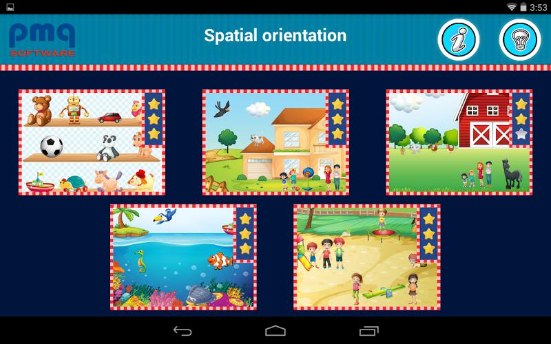 Скриншот Spatial orientation