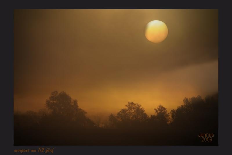 Photo: morgens um 1/2 fünf