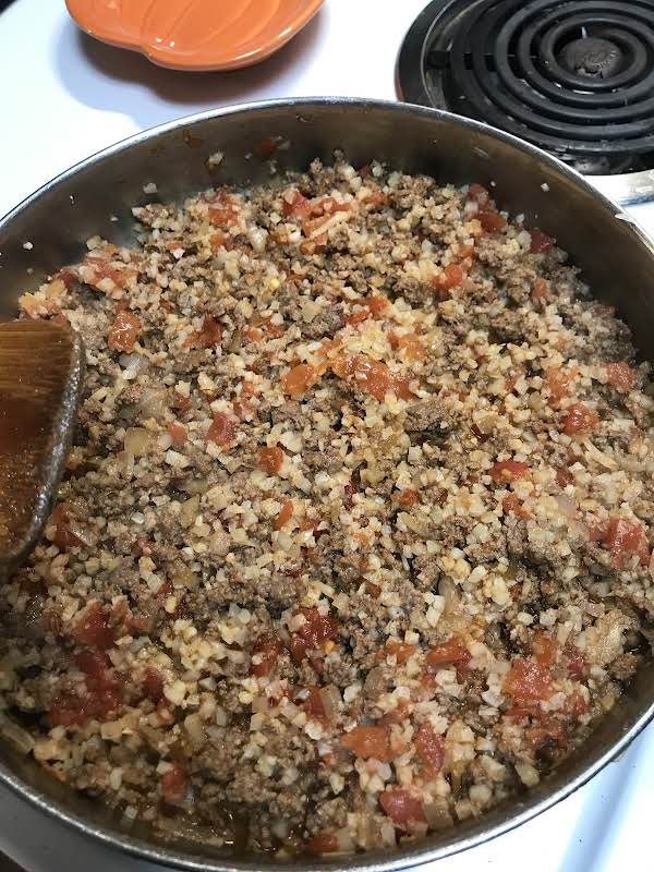 Keto Spanish Rice-a-phoney Recipe