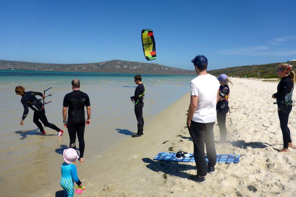 Training in Shark Bay