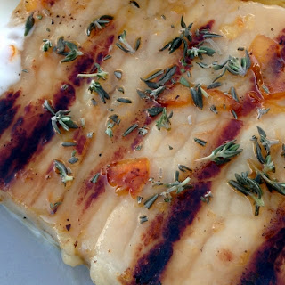5 Ingredient Grilled Pork Chops And Pineapple.