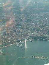 Photo: The famous Jet d'eau in Geneva http://www.swiss-flight.net