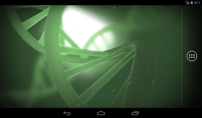 Double Helix Live Wallpaper- screenshot