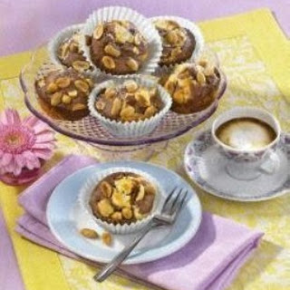 Marmor-Muffins mit Erdnüssen