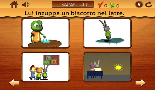Verbi per i bambini 2- Italian