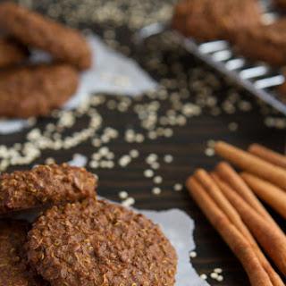 Gingerbread Quinoa Breakfast Cookies.