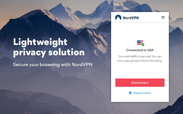 NordVPN Proxy Extension - Privacy & Security Screenshot