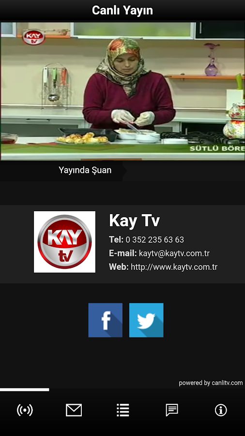 Kay TV- screenshot