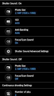 HD Camera Pro - silent shutter- screenshot thumbnail
