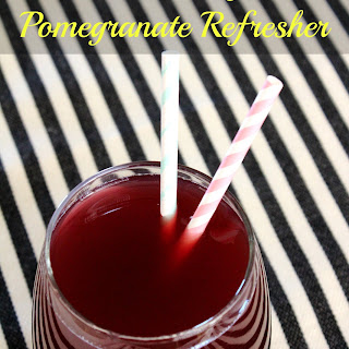 Cranberry Pomegranate Refresher