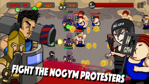 Special Forces VS NoGym u2013 Strategic Defense Game 1.0 screenshots 1