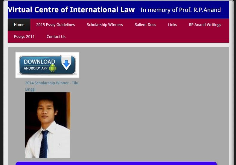 VCIL Public International Law- screenshot