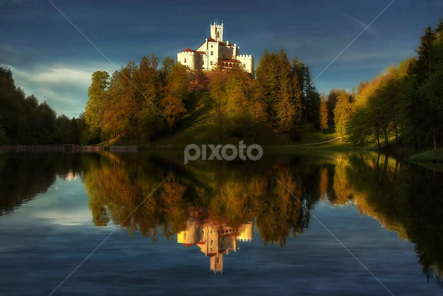 Fairytale castle by Boris Frković - City,  Street & Park  Vistas