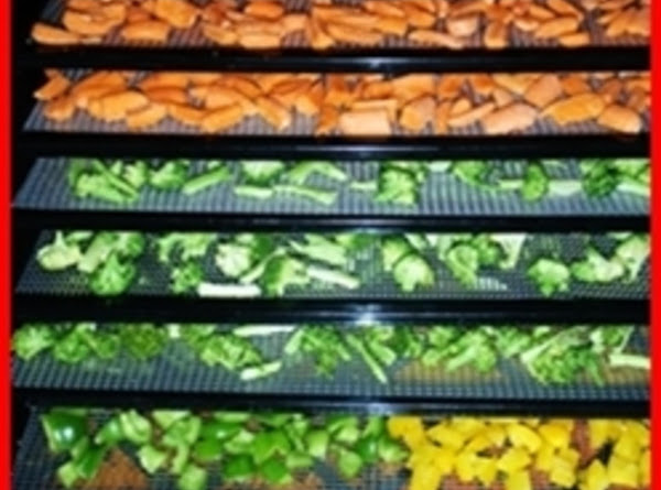 Dehydraying Vegetables Recipe